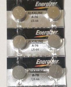 6-Fresh-Genuine-Energizer-A76-LR44-AG13-357-157-303-Alkaline-Battery-EXP-2023