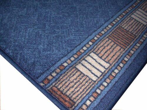 "Carpet Runner /""AW attics Blue/"" 100x250 cm Suede New B Goods SALE"