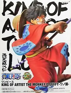 Details About One Piece Banpresto King Of Artist The Monkey D Luffy Figure Wano Kuni