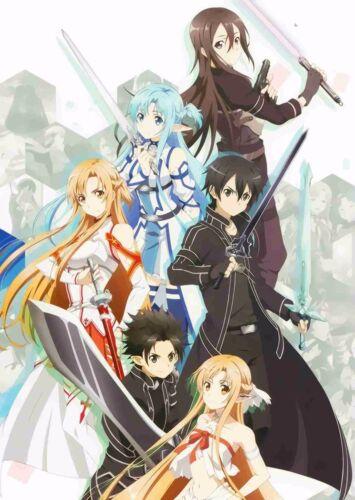 Sword Art Online Poster 18 A4 /& A3