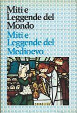 Novacco -  Miti e leggende nel Medioevo - Casini Roma 1976 Dei Eroi e Cavalieri