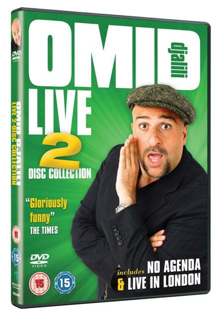 Omid Djalili Live Collection Double DVD New