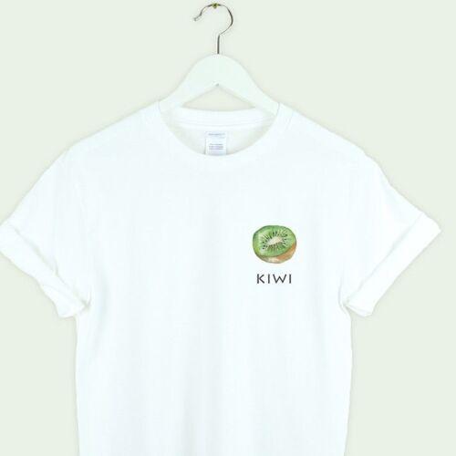 KIWI pocket t-shirt vegan unisex men women tumblr pinterest gift