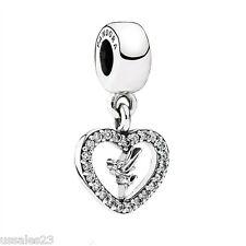 Pandora Disney Love Tinker Bell Charm, Bracelet Bead, Original, New, #791565CZ