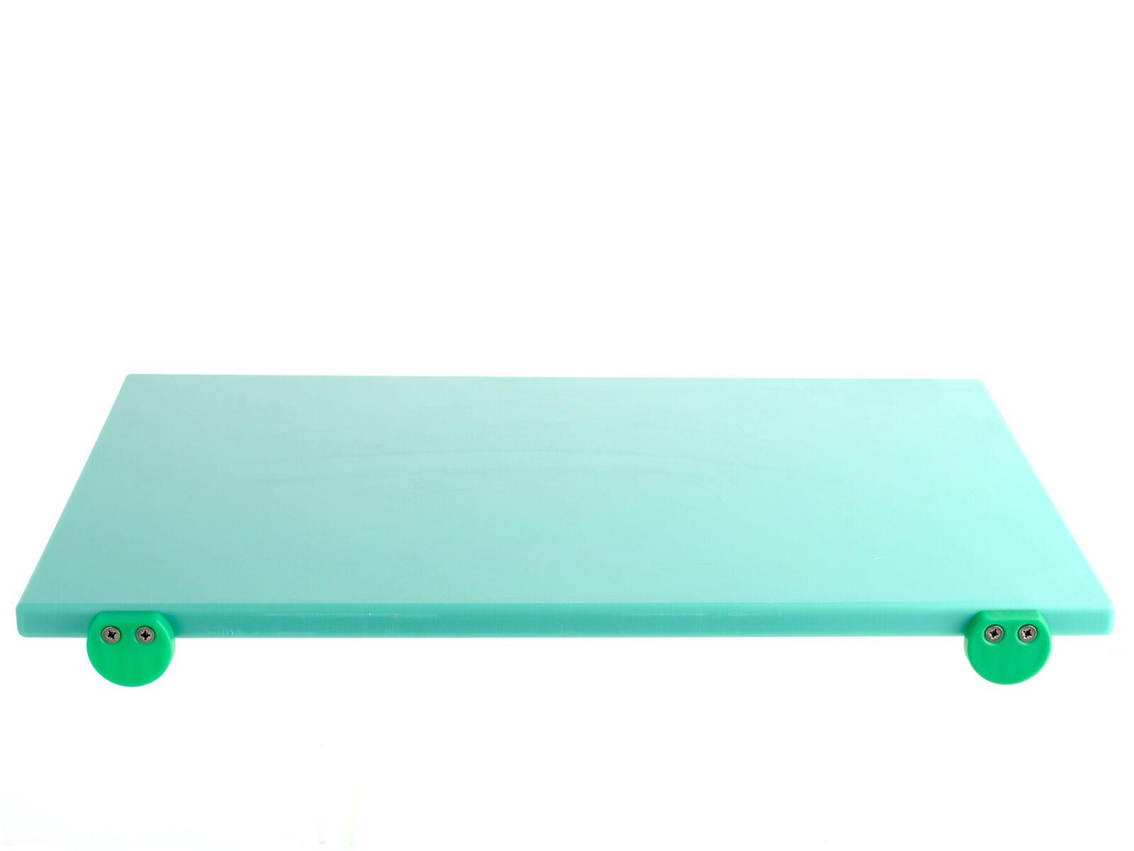 BERTOLI Tagliere plastica vert con batterie 60x40x2 utensile da cucina