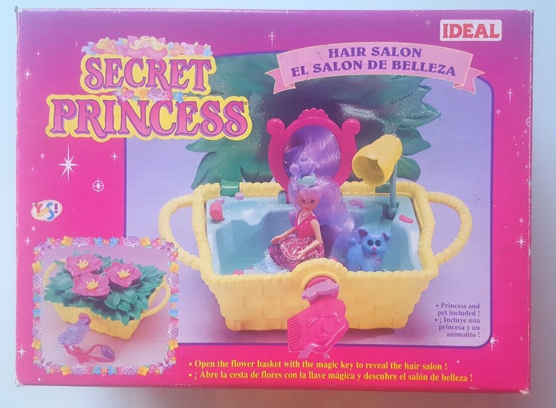 Factory sealed collector´s item Secret Princess Hair Salon Le salon de coiffure