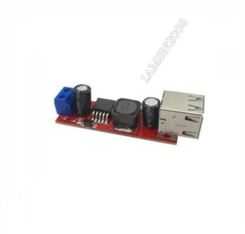 Power Module Step Down Dual Usb Output Dc-Dc 9V//12V//24V//36V To 5V Usb 3A lw