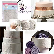 Cake Star 6 Fashion Texture Mats Pearls Sequins Fur Pleats Metal Roses CHEAPEST!