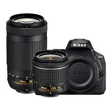 Nikon D5600 Kit w/AF-P DX 18-55mm G VR & AF-P DX 70-300mm G ED *NEW*