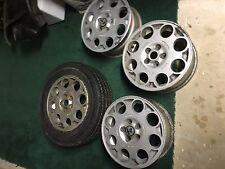 Alfa Romeo GTV6 Speedline Wheels (4)/Michelin TRX 200/60 HR 365 Metric Tires (3)