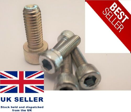 Bike-Cycle-Bicycle Water Bottle Cage Allen Key Bolts-Screws M5 12mm 16mm