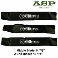 3 Blades Fit 742-0612 942-0612 46 Deck