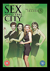 1 of 1 - Sex And The City - Series 3 (DVD, 2008, 3-Disc Set, Box Set)