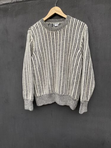 Inis Meain striped alpaca sweater size L - image 1