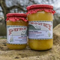 100% PURE Raw Organic Honey 0.500kg 1kg 1.6kg Set Wildflower Honey Harvest 2016