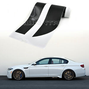 details about car m performance side skirt stripe sticker body decal for bmw 5 series m5 f10 widebody e39 body kit bmw 5 series 535i e34 limousine 1 43
