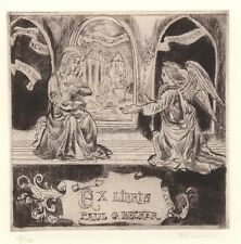 Ex Libris David Bekker : Opus 128, Paul G. Becker (12/50)