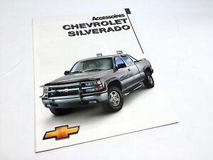 1999-Chevrolet-Silverado-Pickup-Accessories-Brochure-French