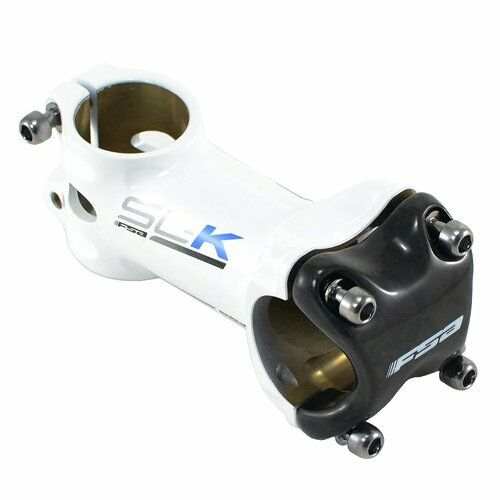 Fast Shipping FSA SL-K Alloy Carbon Bike Stem 31.8 x x x 80mm , White x Gray x Blue a0070e
