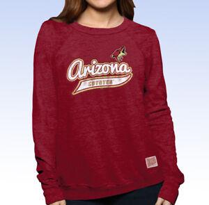 8cc0c4f12d1 Original Retro Brand NHL Womens ARIZONA COYOTES Tri-Blend Sweatshirt ...