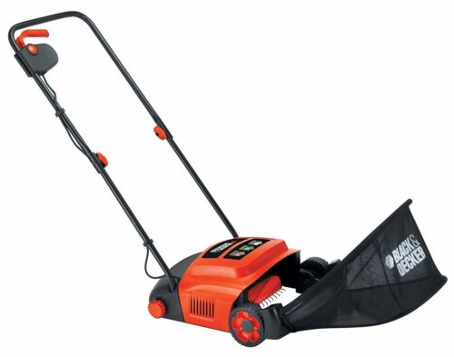 Arieggiatore elettrico Black/&Decker 600Watt Lama 30cm x pulizia giardino GD300