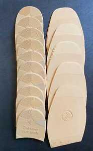 5-Paar-Sohlen-Gummisohlen-amp-5-Paar-passende-Absaetze-von-INDIANA