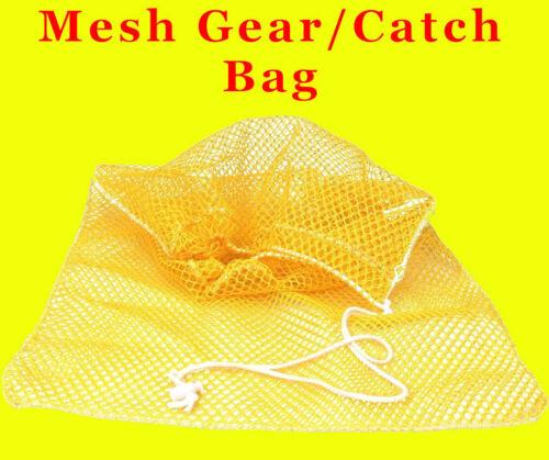 "Mesh Drawstring Bag 36/""x24 Gear Catch Cruise Vacation laundry Scuba Snorkel Net"