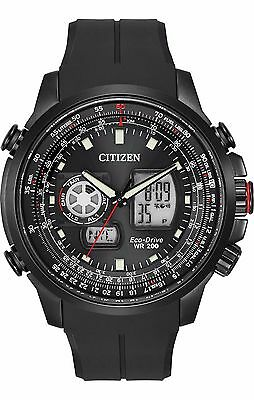 Citizen Eco-Drive Men's JZ1065-13E Promaster Air Black Polyurethane Band Watch
