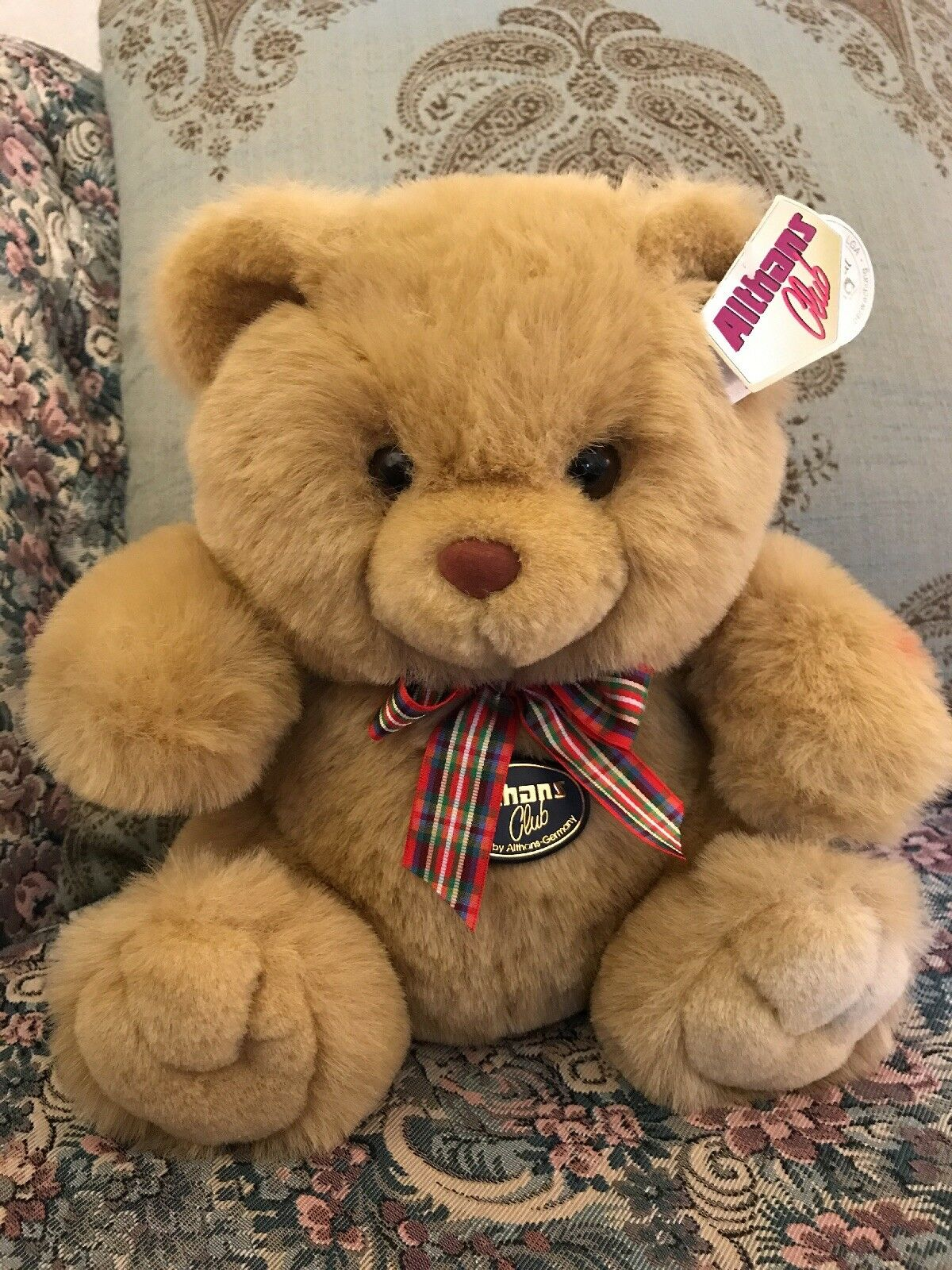 NEW Althans Club NEUSTADT Plush Bear 11  Made Germany NWT
