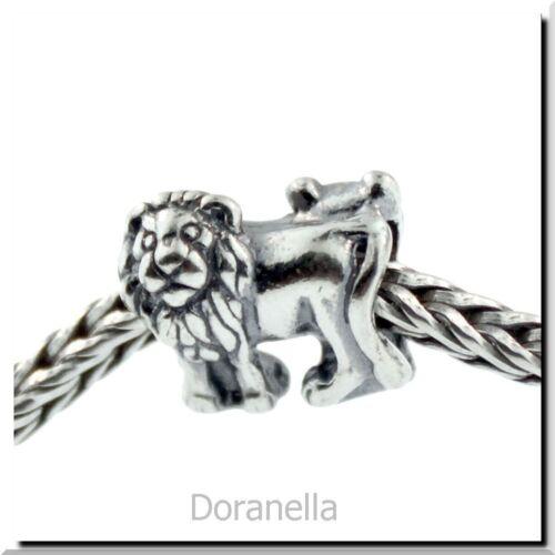 Authentique TROLLBEADS Argent Sterling 11217 lions 1 argent