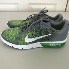 dcd9fd6655e3c item 5 Nike Air Max Sequent 2 Running Shoes Gray Silver Green 852461-003  Mens Size 13 -Nike Air Max Sequent 2 Running Shoes Gray Silver Green 852461- 003 ...
