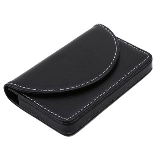Charm Faux Leather Credit Card Holder RFID Organizer Case Pocket Wallet Shan