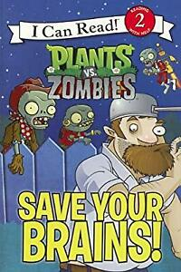 Save-Your-Brains-Plants-vs-Zombies-I-Can-Read-Books-Level-2-Hapka-Cathy