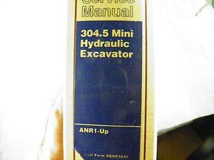 cat caterpillar 304 5 anr1 up excavator service manual ebay rh ebay com Cat 304 5 Specs Cat 304 5 Specs