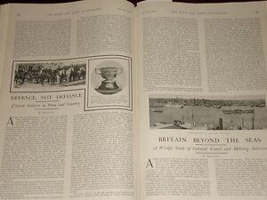 1902 Artículo Volunteer Soldados Jersey Artillería Noche Escuela De Instrucción