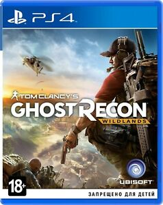 Nouveau-Tom-Clancy-039-s-Ghost-Recon-Terres-Vierges-PS4-2017-russe-version-anglaise