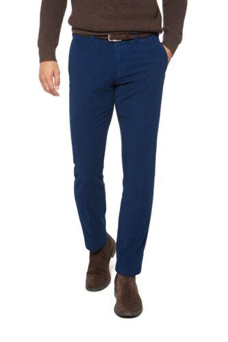 Boggi Garment Dyed Stretch Fustagno Pantaloni-Pelle di Talpa UK 30 Tag Nuovo di zecca con