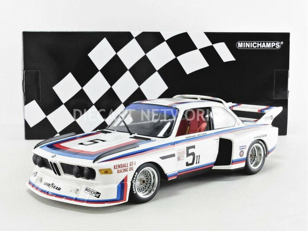 mejor reputación MINICHAMPS - 1 18 - - - BMW 3.5 CSL - 6H WATKINS GLEN 1979 - 155792605  muchas concesiones