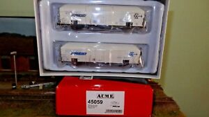 Acme 45059 Set 2 Wagons Interfridge Fs, côtés lisses, logo moderne