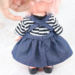 Puppenkleidung-Puppen-Kleider-Puppenzubehoer-mit-Freizeit-Stil-fuer-25-cm