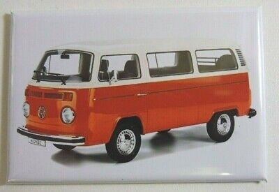 Großartig Magnet Magnet Bus Volkswagen VW Kombi T2 Lang 78 mm Haut 54 mm Neu