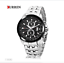 Curren-8082D-2-Silver-Black-Black-Stainless-Steel-Watch thumbnail 2