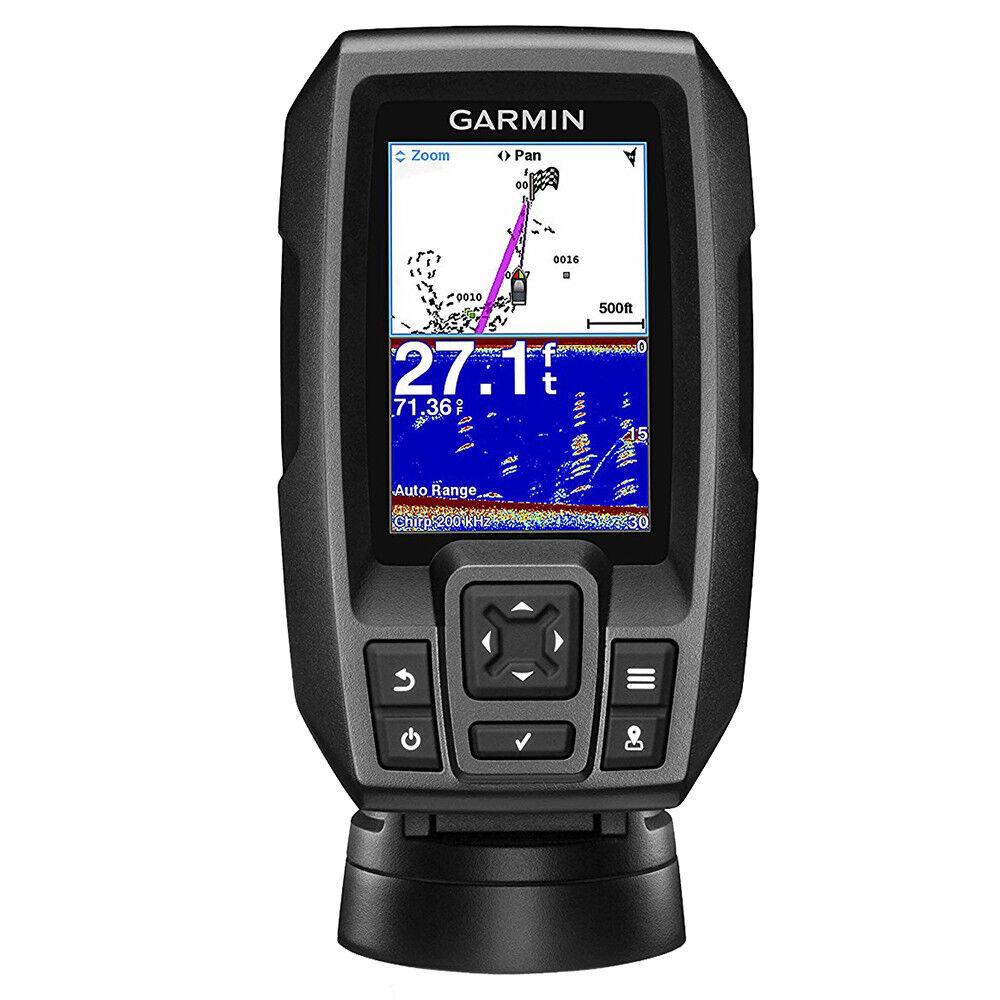Garmin Garmin Garmin Marine Striker 4 Fishfinder With GPS Transom Transducer 010-01550-00 c21519