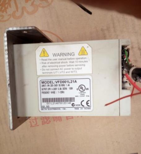 1Pcs Used Delta inverter VFD-L VFD001L21A 220V 0.1KW free shipping *PQT