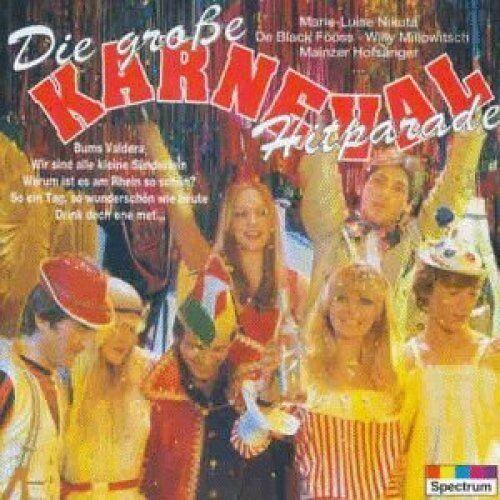 Die große Karneval Hitparade (16 tracks) Bläck Fööss, Orig. Dick & Dünn, .. [CD]