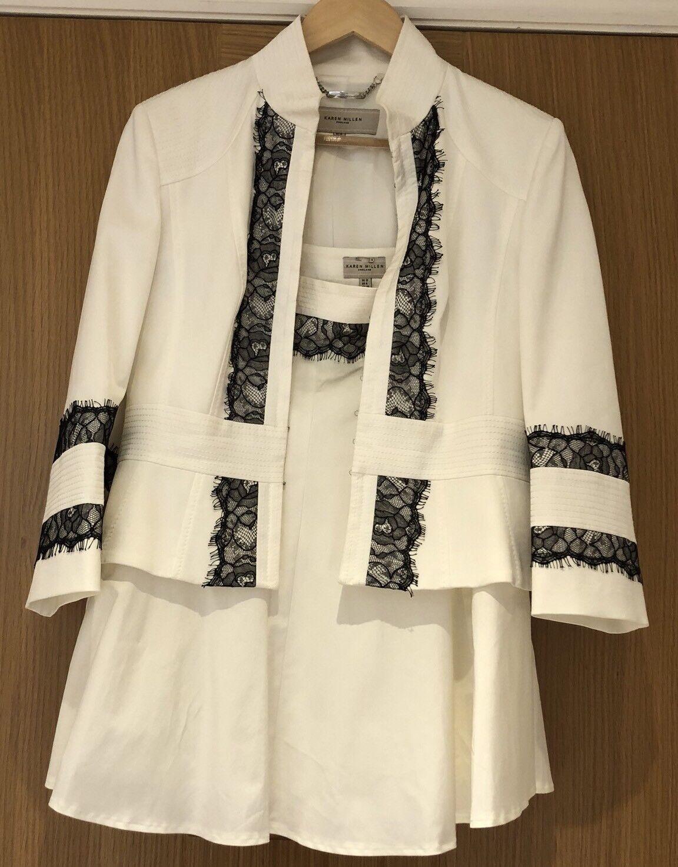 71de97a03d69 Millen Outfit Taglia 12-14 Giacca Gonna con pizzo elegante Karen vestito  npzlpl2728-Tailleur e abiti sartoriali
