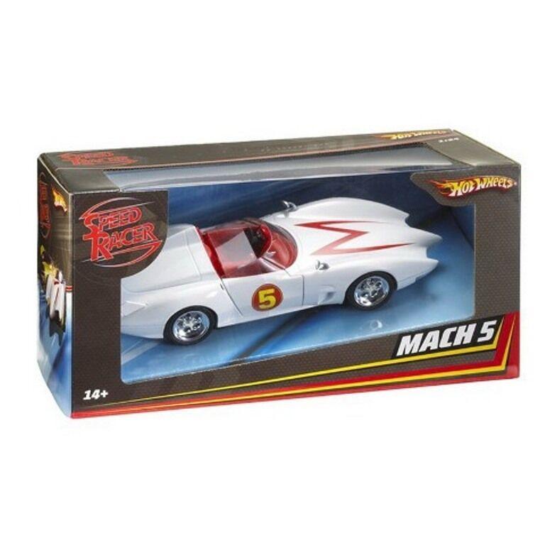 Mattel Hot Wheels M5978 2008 SPEED RACER MACH 5 Voiture Modèle Movie Version 1 24th