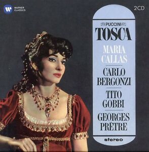 Puccini-Callas-Bergonzi-Gobbi-Pretre-Tosca-1964-1965-New-CD