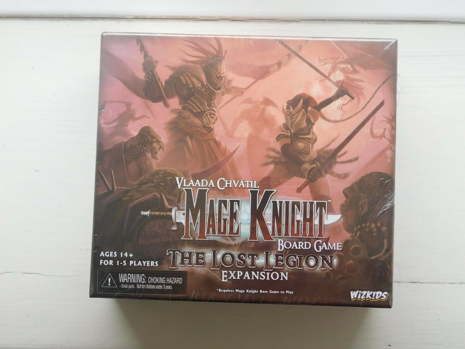 MAGE KNIGHT jeu de plateau  The lost Legion Expansion