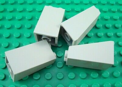 NEW Lego Lime Green Slopes 2x1x2//3 with Slots